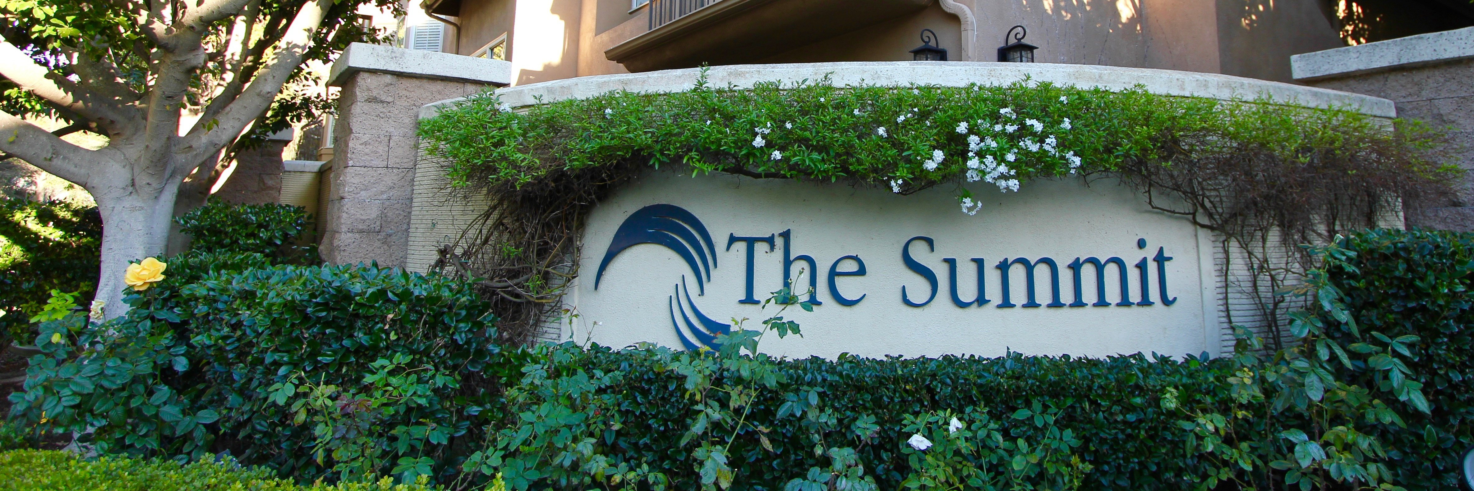 The Summit is a gated townhome community in Newport Coast CA