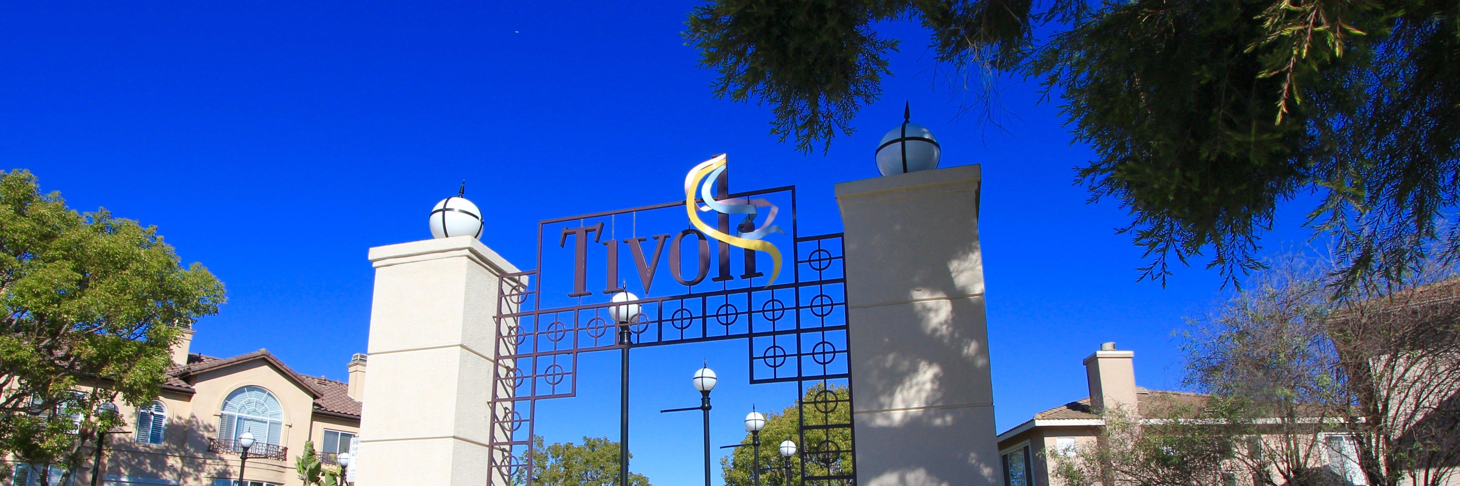 Tivoli Community Marquee in Aliso Viejo Ca