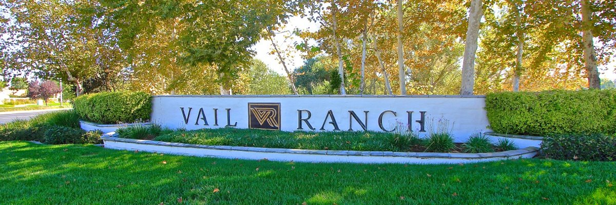 Vail Ranch Community Marquee in Temecula Ca