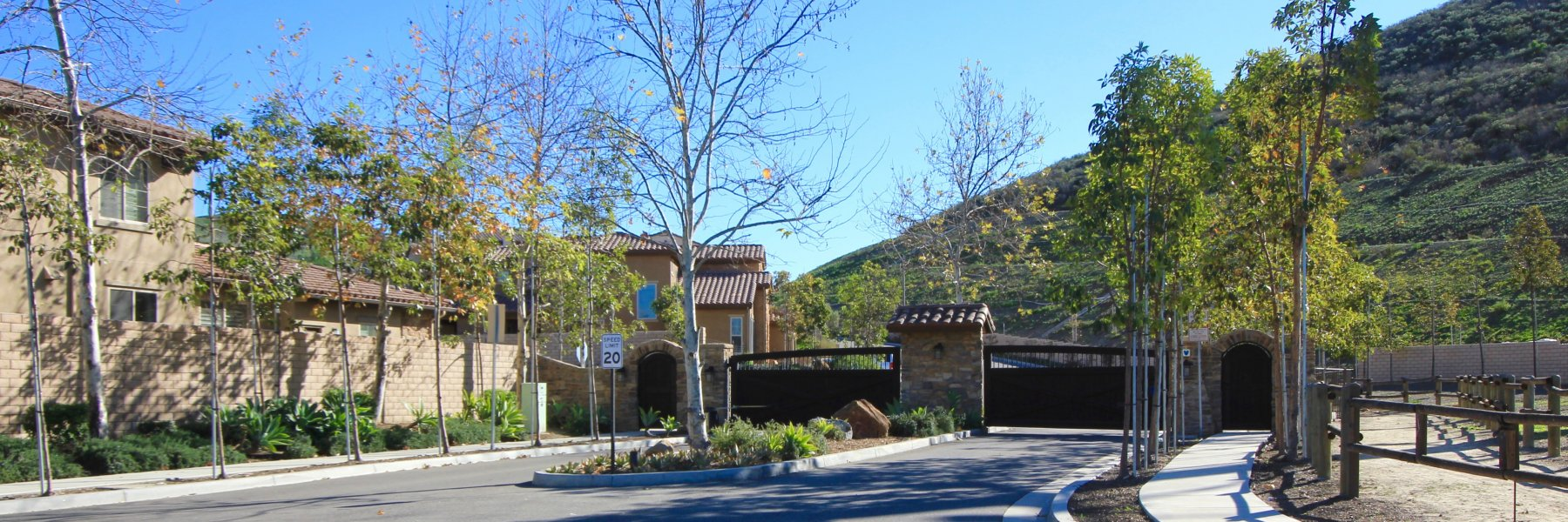 Valinda is a private gated community located in San Juan Capistrano California