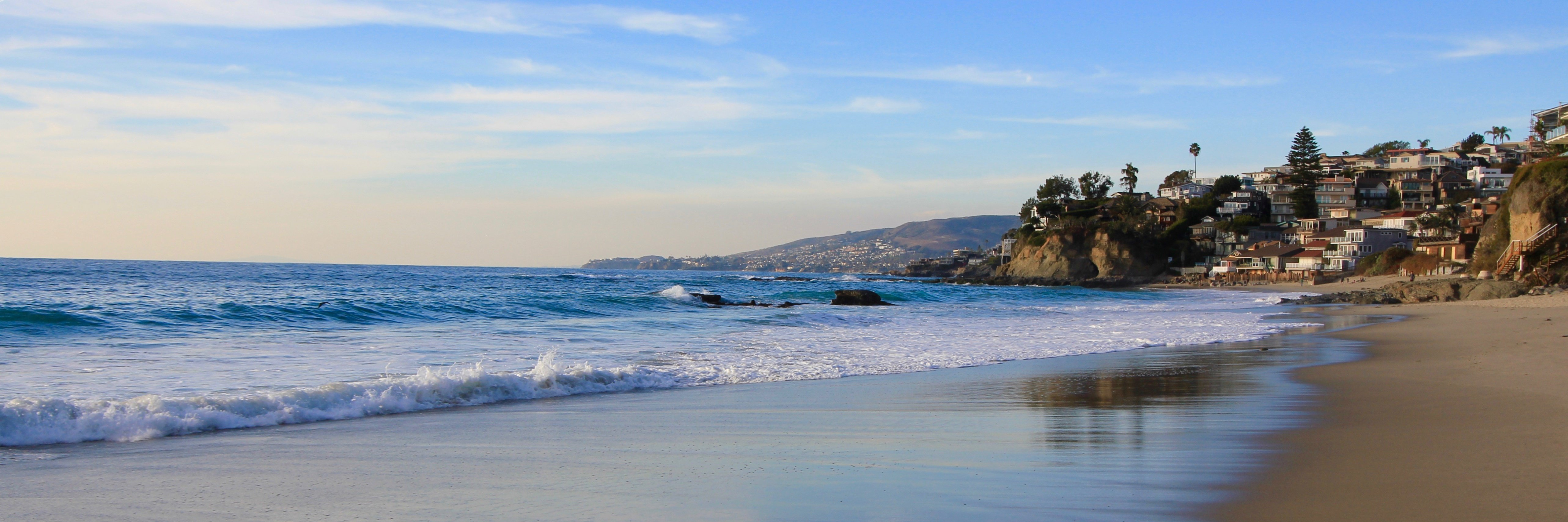 Victoria beach is a small private high end community of homes in Laguna Beach CA