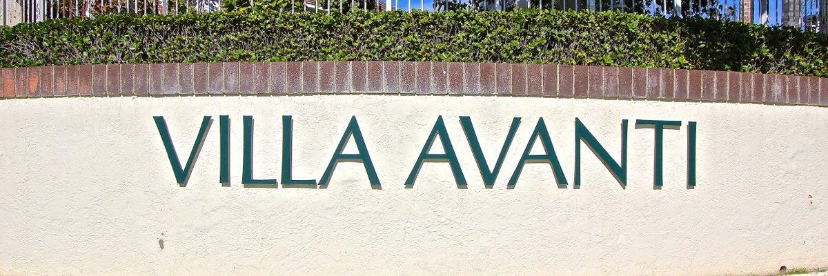 Villa Avanti Community Marquee in Temecula Ca