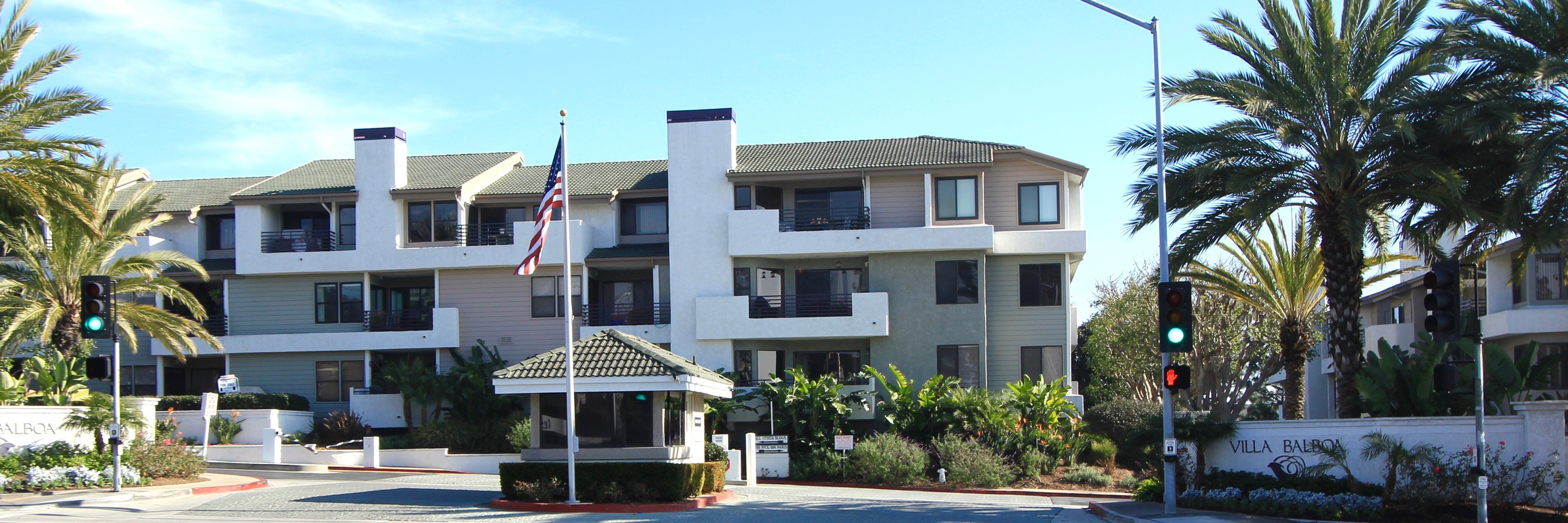 Villa Balboa is a housing community located within the city of Newport Beach, CA