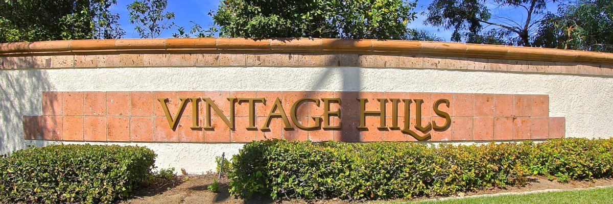 Vintage Hills Community Marquee in Temecula Ca