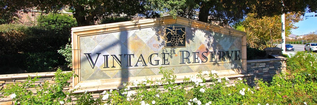 Vintage Reserve Community Marquee in Murrieta Ca