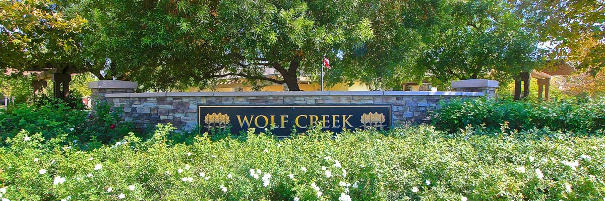 Wolf Creek Community Marquee in Temecula Ca