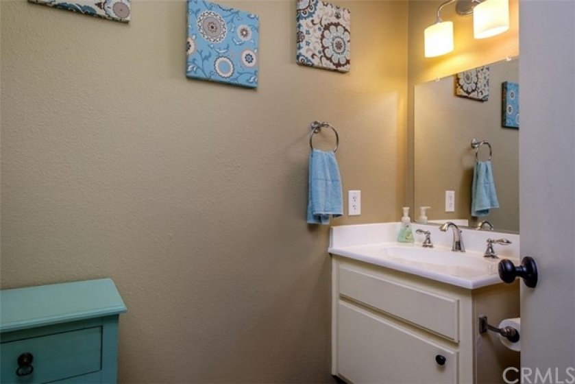 Powder Room Downstairs!