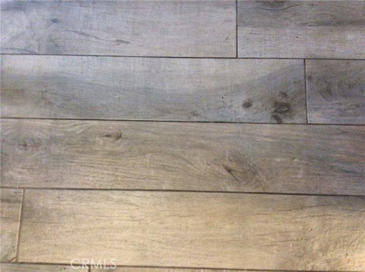 Ground level flooring