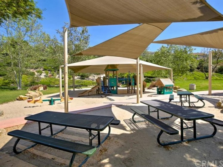 Canyonview park has plenty of space to rest, eat, or relax.