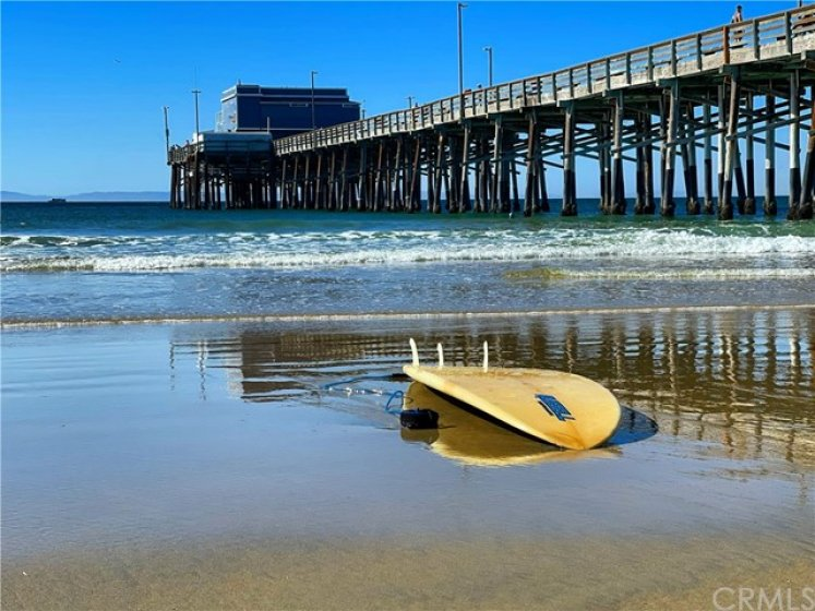 Nearby Newport Beach Pier