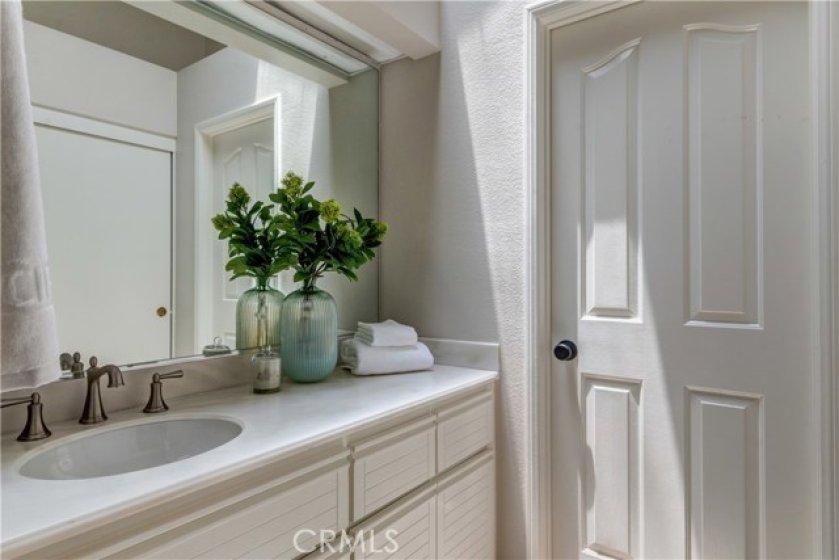 Upper level master bedroom #2 vanity area
