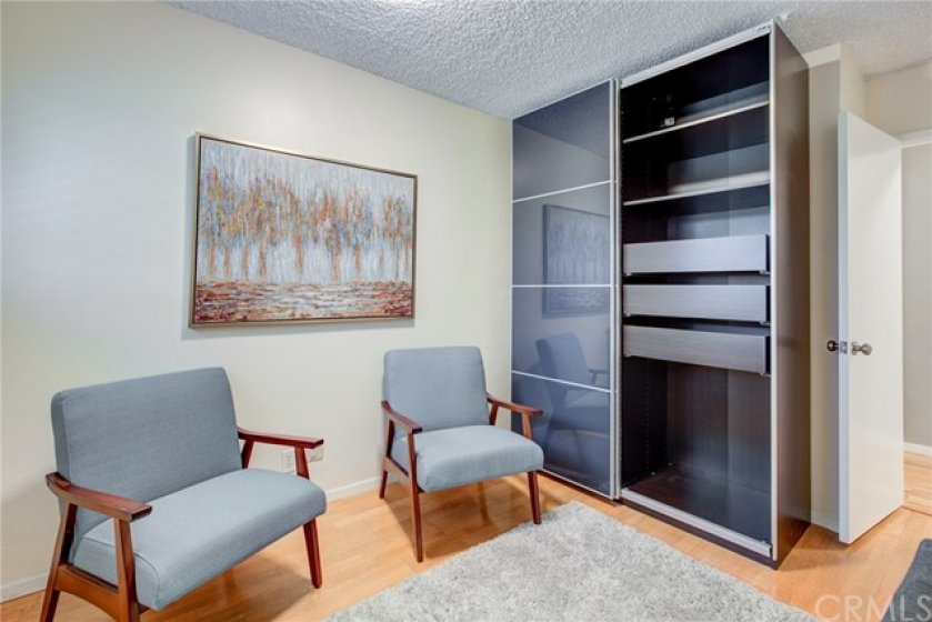 $700 Ikea closet included in sale or can be removed at buyer's request.