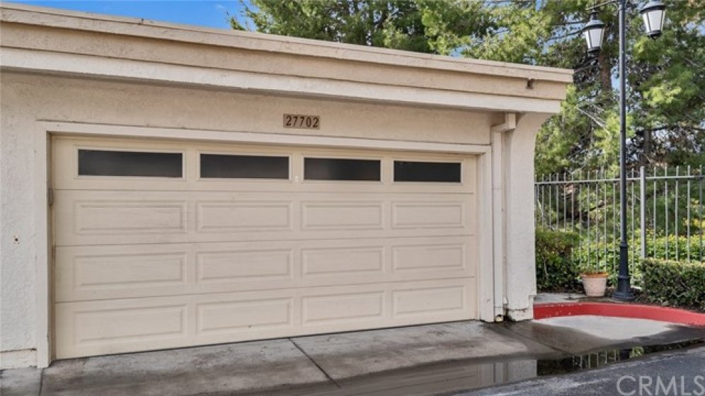 Two car garage!