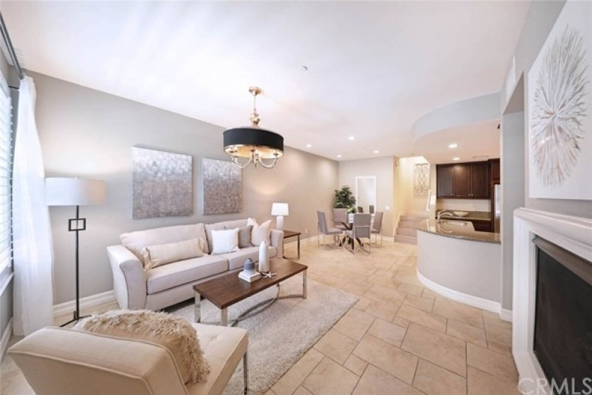 Large and open floor plan is perfect for entertaining and holiday gatherings.