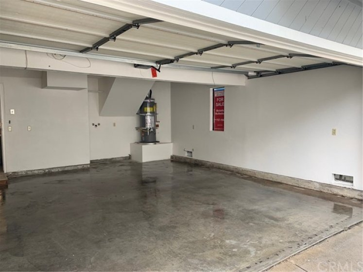 Two Car Garage with Direct Access to Kitchen