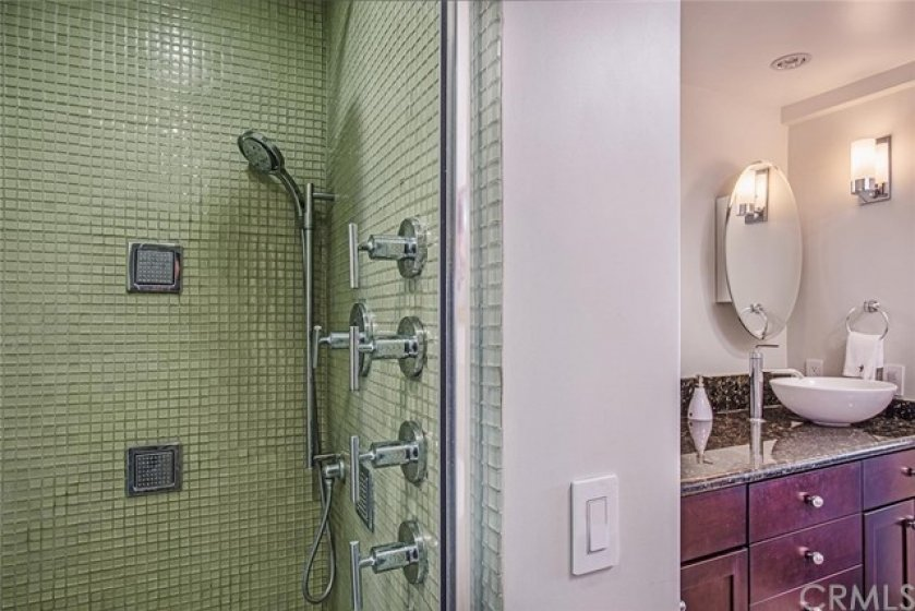 Luxurious Primary shower.