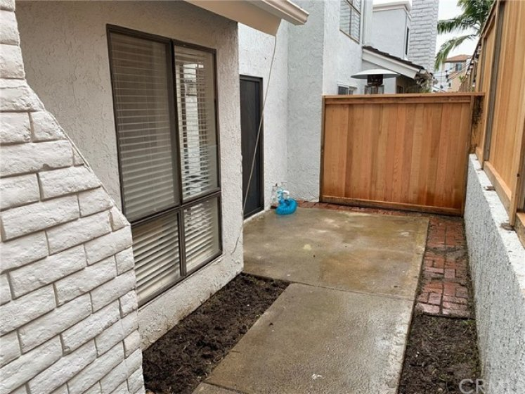Enclosed Private outdoor Patio, Perfect for a  BBQ