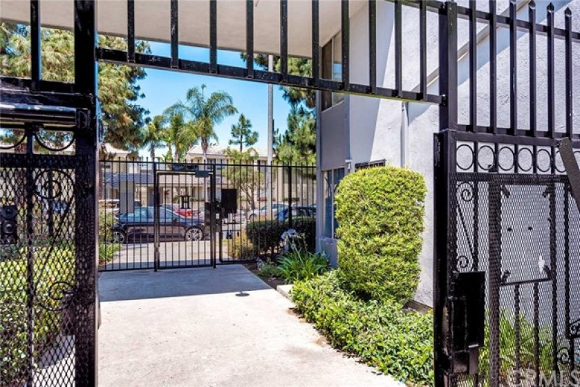 Gated entry with fob access!