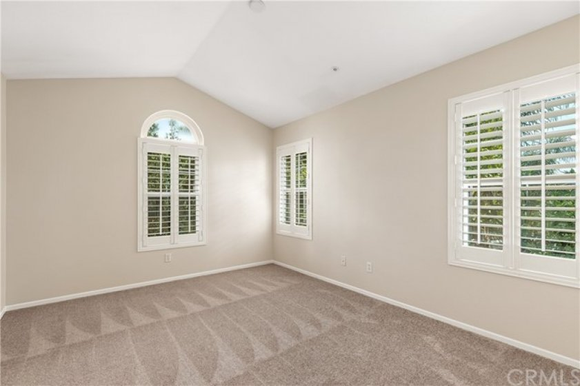 Spacious Master Bedroom with beautiful Tree view