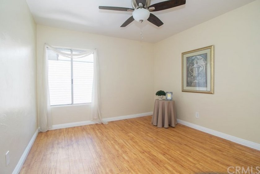 Welcome to the spacious master bedroom!