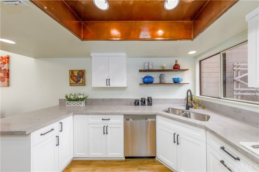 White Shaker Cabinets.  Job Well Done!