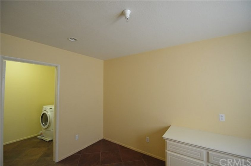 Laundry Room.  The door is open now but totally separated from the Office.