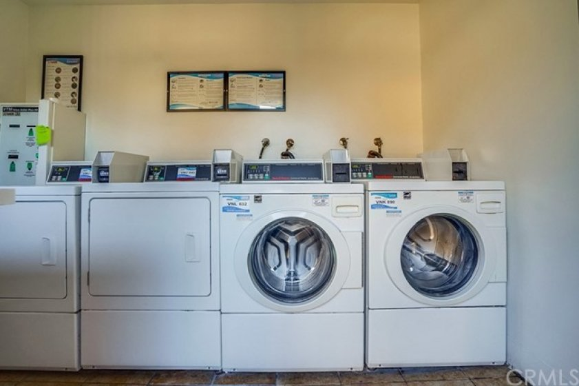 Community Laundry on each floor with card pay
