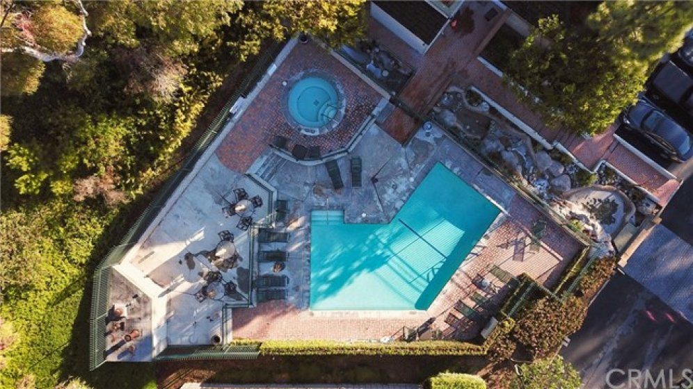 Pool and spa.