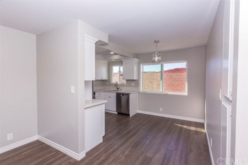 Dining Area attached to kitchen
