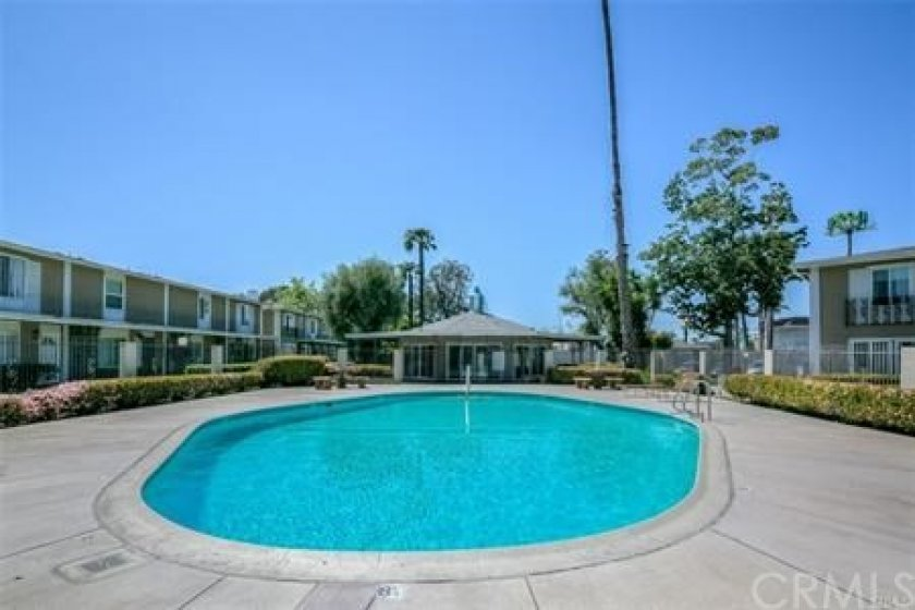 Large community pool and club house which is very close to the home but not too close to hear