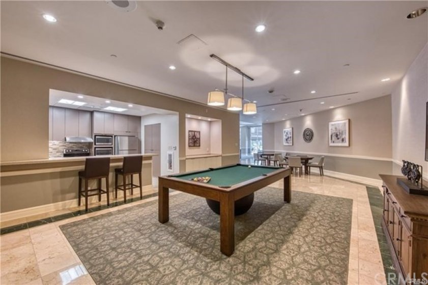 game room with billiard  and card tables