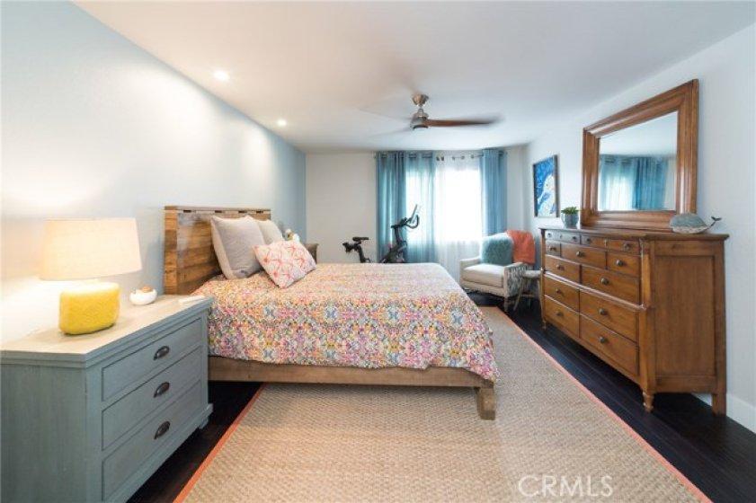 Big spacious master bedroom