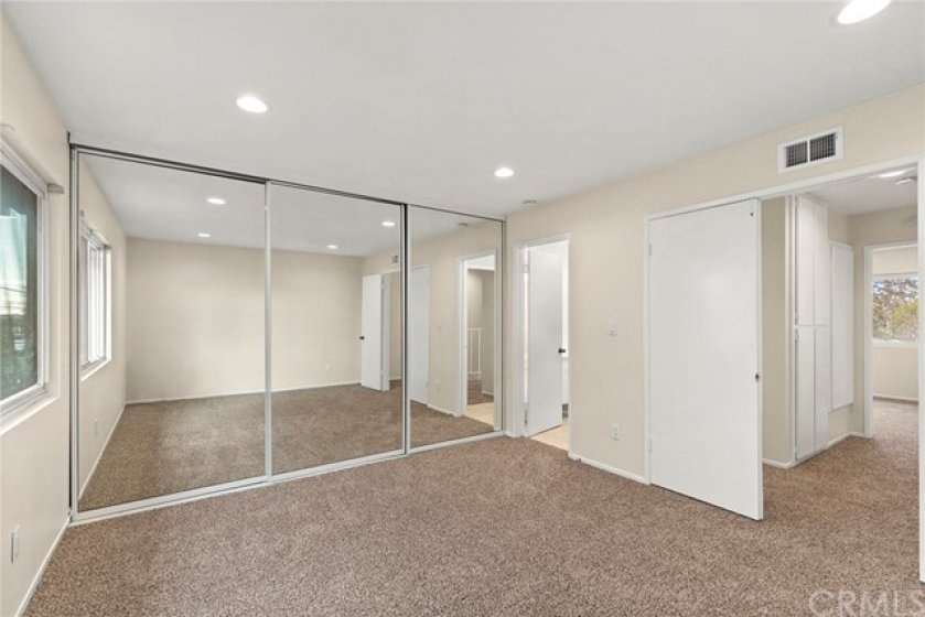 Master Bedroom with direct access to bathroom, HUGE closet space