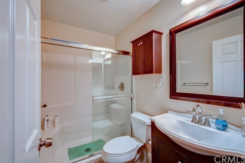 Master Bath is a shower and nicely upgraded!