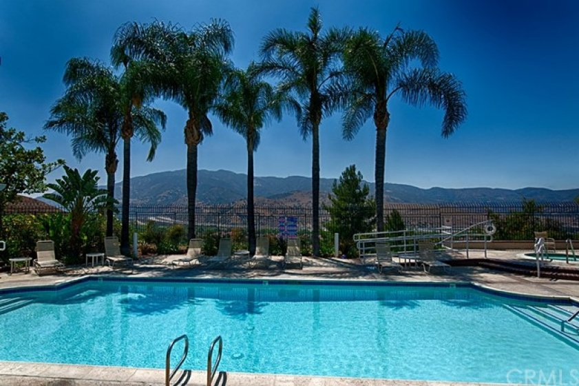 Picture of the resort style association pool.
