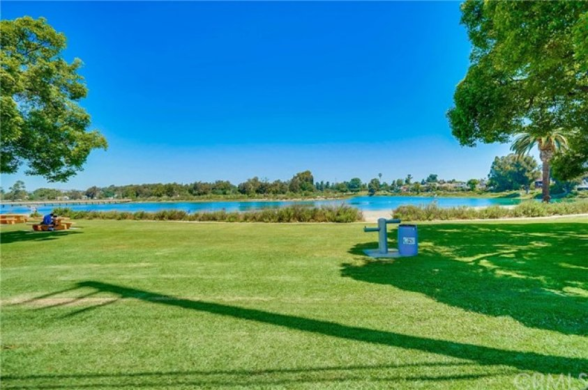 Marina Vista Park with greenbelt and walking trails, and Colorado Lagoon