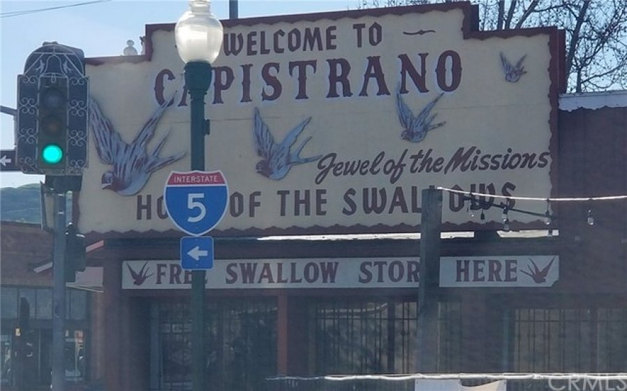 SJC TOWN CENTER - HOME TO THE ANNUAL SWALLOWS' DAY PARADE & FESTIVAL!  (Coming March 23rd this Year! - Be sure not to miss the Frog Jumping Contest!  All Events/Parade are just a short walk away from 26436 Calle San Antonio!)