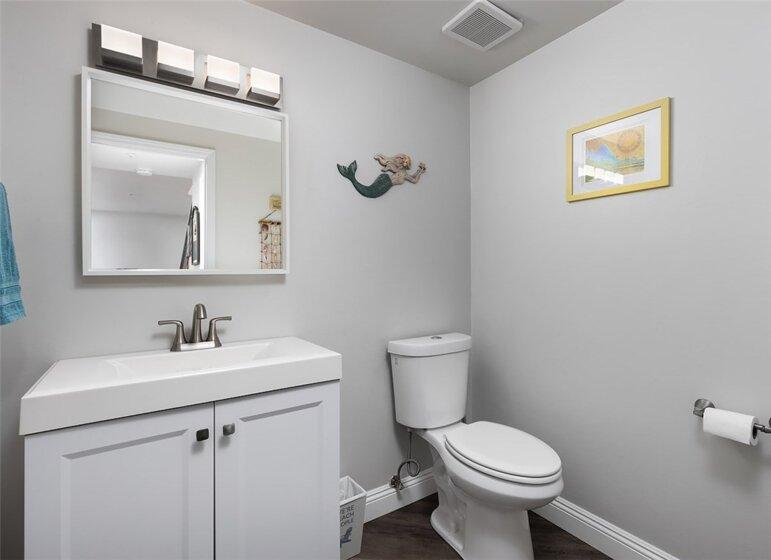 Downstairs Half Bathroom