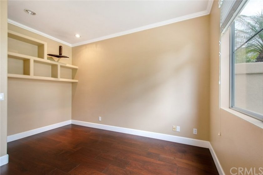 Convenient main floor bedroom