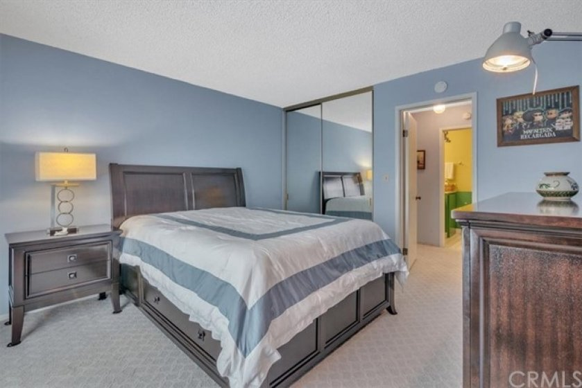 The Bedroom Suite features Dual Closets.