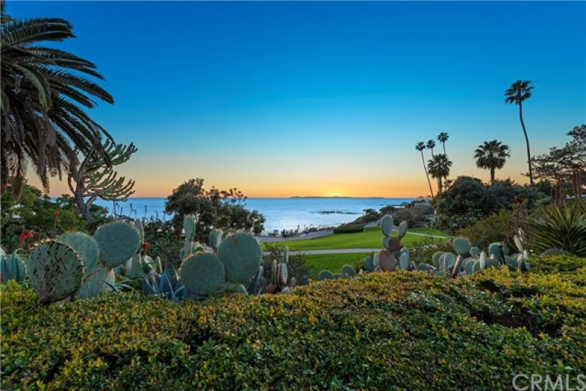 view from heisler park, located directly in front of #202