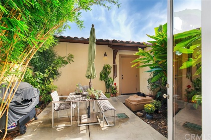 Relax or Enjoy Private Backyard Patio.