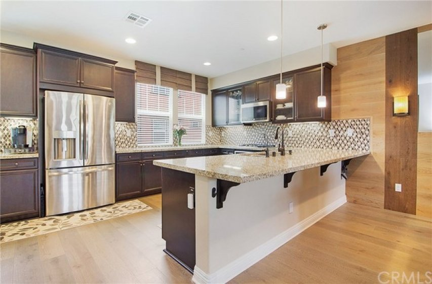 Everything you could want in this HUGE kitchen.