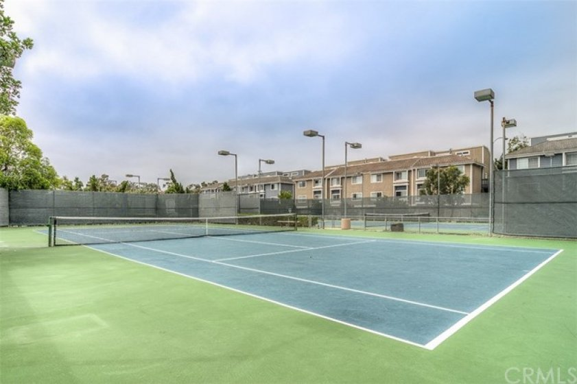 If you play tennis, it is right here for you