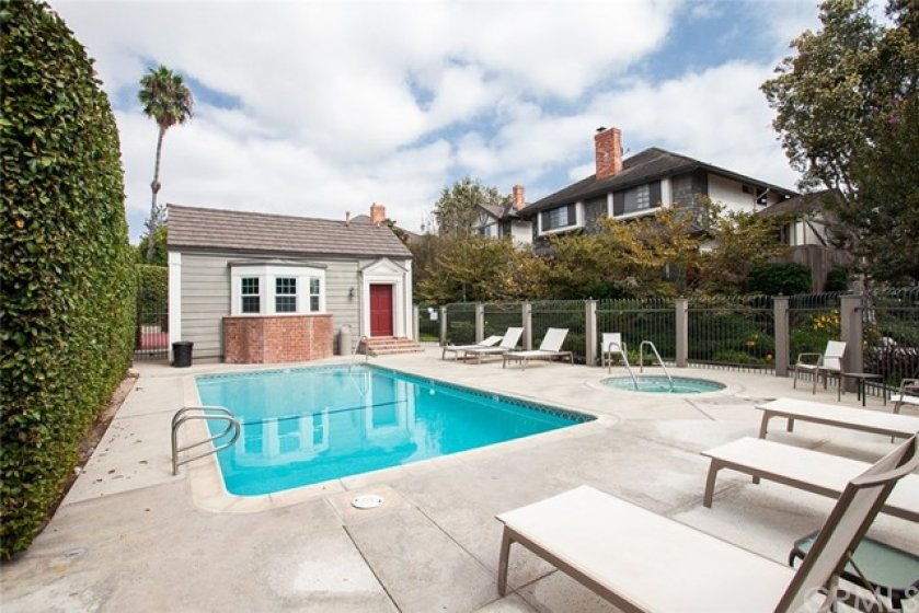 Brittanywoods features a small pool & heated spa with a community clubhouse, rumored to be one of Orange County's first original schoolhouses.