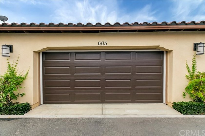 Spacious Two Car Garage