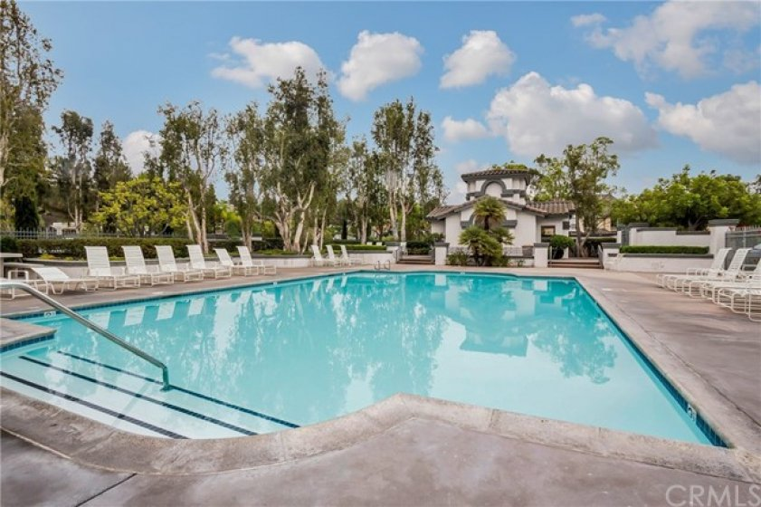Community pool, spa and Lake Mission Viejo access