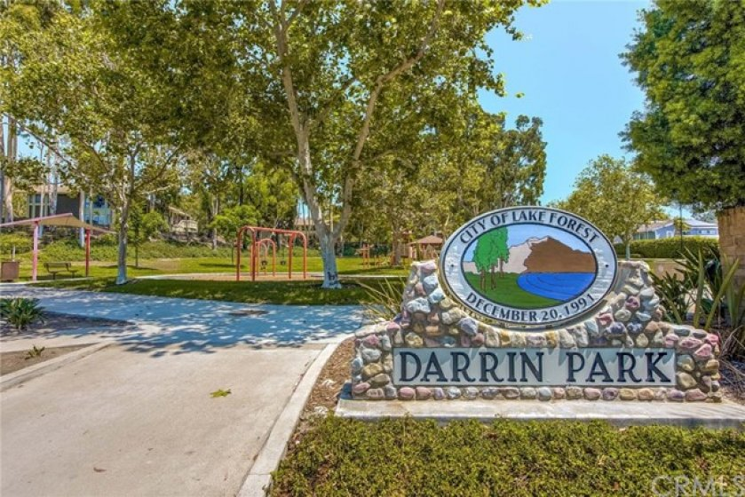 This is the park that you can look down upon from the town home.  You can see the unit in the upper left hand corner