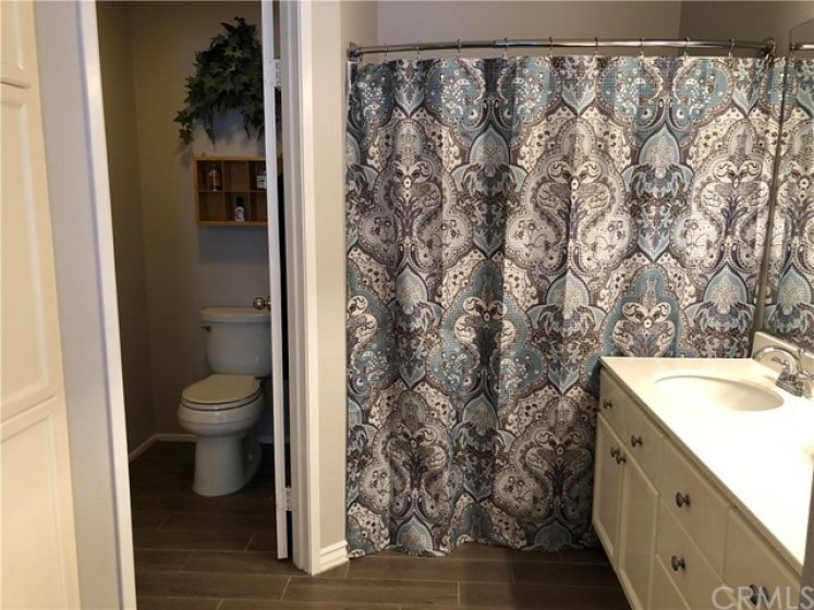 Large Master Bathroom with Separate Water Closet.