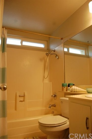 Second Bathroom with Shower & Tub Combo